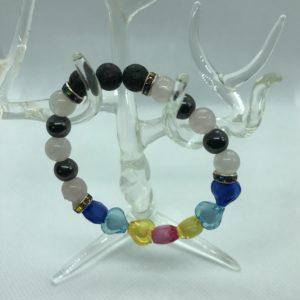 Lava Bead Bracelet A